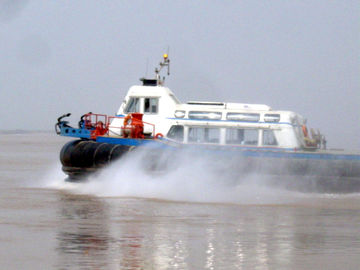 Cross Channel Ferry Barge Multi-Purpose Dengan Air Cushion Platform